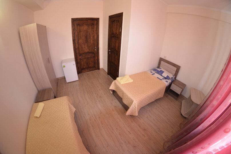 2-x номер с двумя отдельными кроватями, Черноморская улица, 20, Береговое, Феодосия - Фотография 3