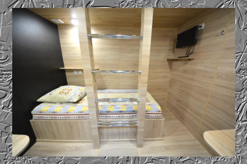 """Капсульный отель """"АЛОХА"""", Океанский проспект, 29 на 70 комнат - Фотография 48"""