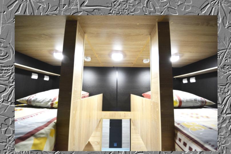 """Капсульный отель """"АЛОХА"""", Океанский проспект, 29 на 70 комнат - Фотография 51"""