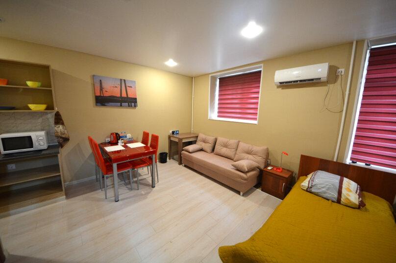 Студия 2single bed + sofa, Океанский проспект, 29, Владивосток - Фотография 1
