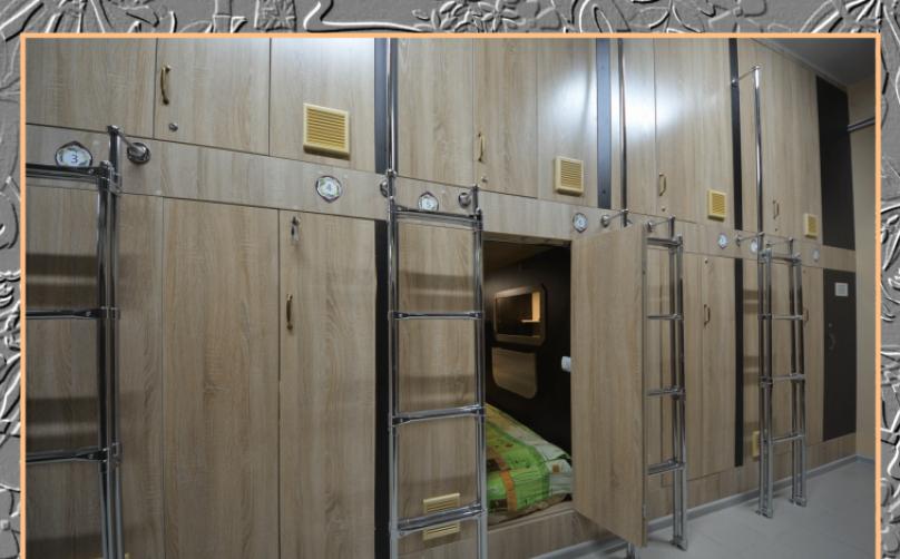 """Капсульный отель """"АЛОХА"""", Океанский проспект, 29 на 70 комнат - Фотография 36"""