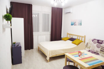 1-комн. квартира, 25 кв.м. на 4 человека, улица Бориса Пупко, 3, Новороссийск - Фотография 1