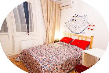 1-комн. квартира, 23 кв.м. на 4 человека, проспект Дзержинского, 238, Новороссийск - Фотография 1