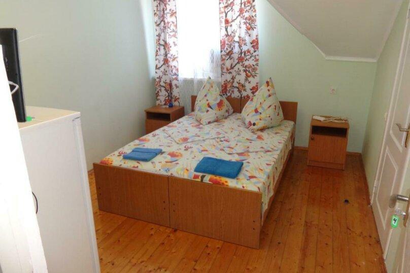 Двухместный номер с 1 кроватью или 2 отдельными кроватями и террасой, Тракторная улица, 9, Витязево - Фотография 13