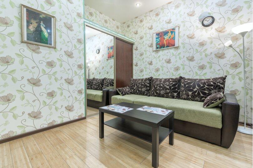 2-комн. квартира, 42 кв.м. на 4 человека, Большой Гнездниковский переулок, 10, метро Арбатская, Москва - Фотография 2