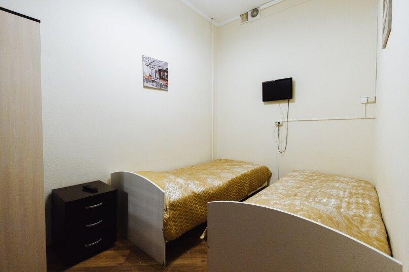 Эконом-номер с двумя раздельными кроватями без окна, улица Маросейка, 13с3, Москва - Фотография 1