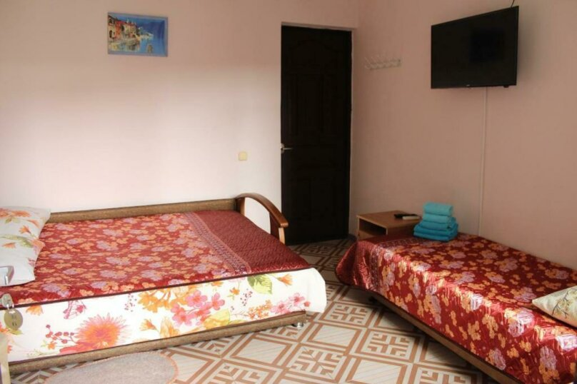 Двухместный номер с 2 отдельными кроватями и душем, улица Просвещения, 95, Адлер - Фотография 2