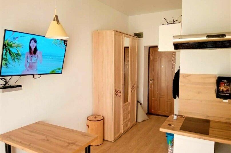 1-комн. квартира, 20 кв.м. на 3 человека, Сигнальная улица, 2Вк1, Черноморское - Фотография 5