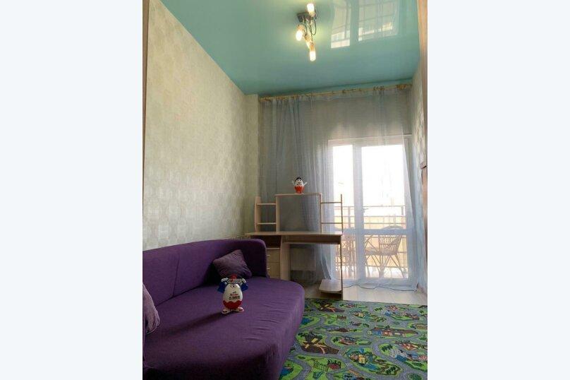 3-комн. квартира, 58 кв.м. на 7 человек, Параллельная улица, 9лит5, Сочи - Фотография 21