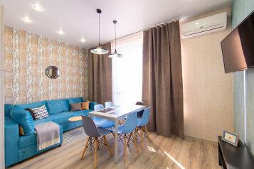 3-комн. квартира, 50 кв.м. на 6 человек, переулок Кувшинок, 8, Сочи - Фотография 1