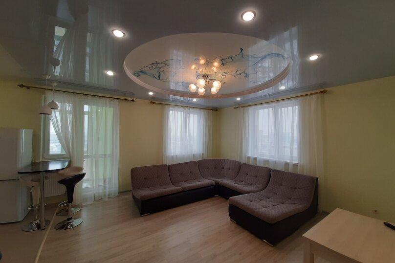 2-комн. квартира, 80 кв.м. на 6 человек, Вокзальная, 55Б, Рязань - Фотография 11