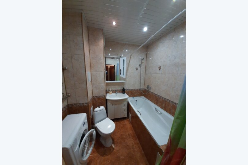 2-комн. квартира, 74 кв.м. на 6 человек, Первомайский проспект, 76к1, Рязань - Фотография 14