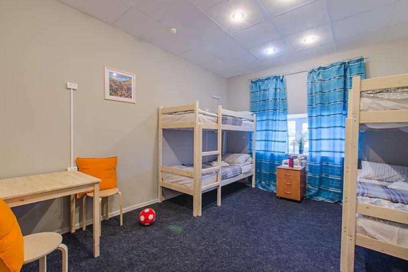 Кровать в общем 6-ти местном номере, Каменноостровский проспект, 10Б, Санкт-Петербург - Фотография 1