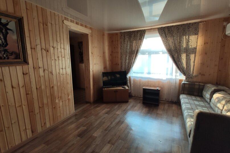 Апартаменты с кухней, гостиной и 2-мя спальнями на 2-ом этаже, Комсомольская улица, 10, Витязево - Фотография 6
