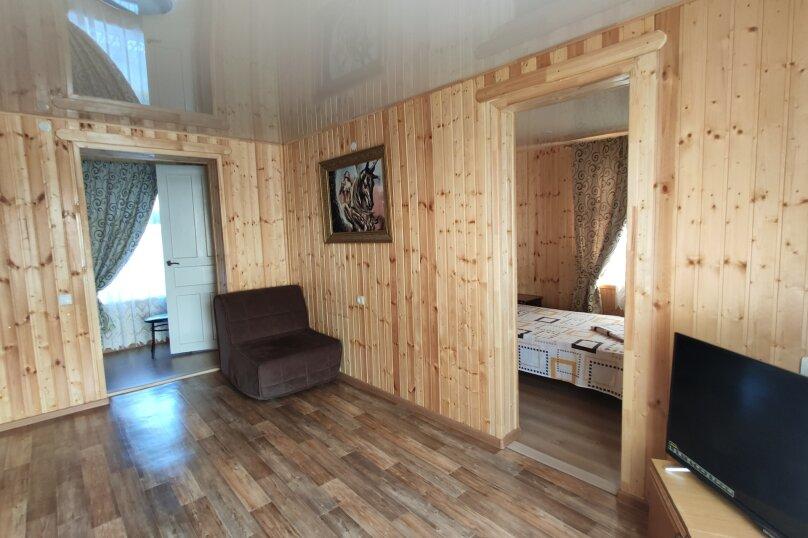 Апартаменты с кухней, гостиной и 2-мя спальнями на 2-ом этаже, Комсомольская улица, 10, Витязево - Фотография 7