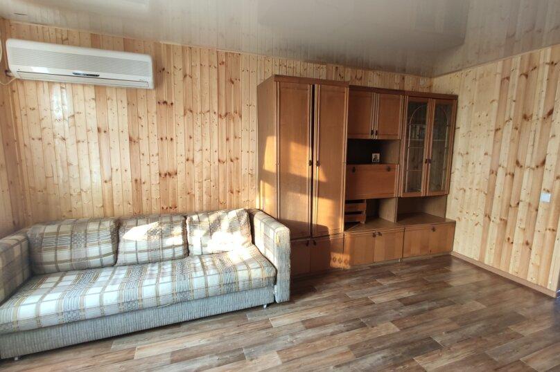 Апартаменты с кухней, гостиной и 2-мя спальнями на 2-ом этаже, Комсомольская улица, 10, Витязево - Фотография 10
