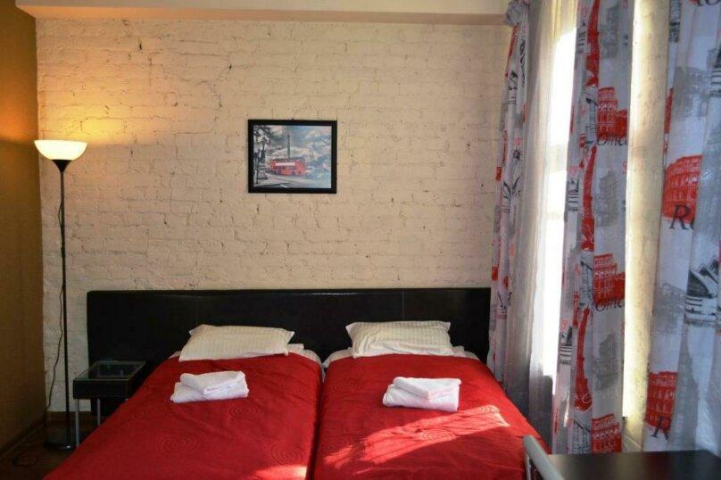 Стандартный номер с 2 односпальными кроватями и диваном, Лиговский проспект, 44, Санкт-Петербург - Фотография 5
