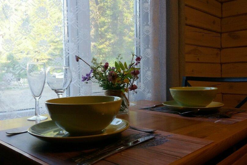 Домик-студия для двоих на озере Таватуй, 30 кв.м. на 2 человека, 40 лет Октября, 10, Таватуй - Фотография 8