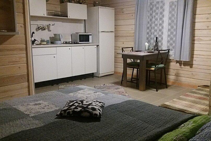 Домик-студия для двоих на озере Таватуй, 30 кв.м. на 2 человека, 40 лет Октября, 10, Таватуй - Фотография 1