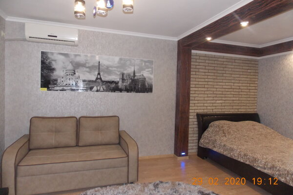 1-комн. квартира, 28 кв.м. на 4 человека, улица Мира, 4, Пятигорск - Фотография 1