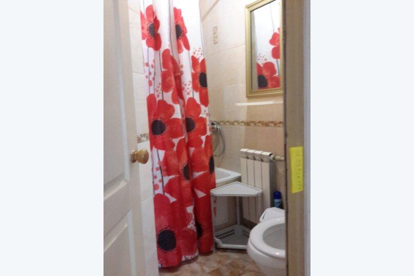 Отдельный однокомнатный домик, 35 кв.м. на 4 человека, 1 спальня, Наваринская улица, 10, Севастополь - Фотография 8