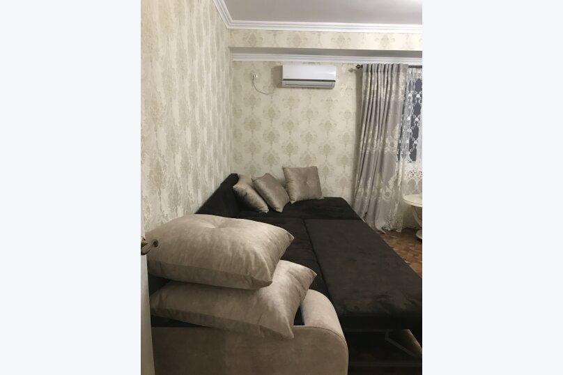 3-комн. квартира, 60 кв.м. на 7 человек, улица Агрба, 16, Пицунда - Фотография 3