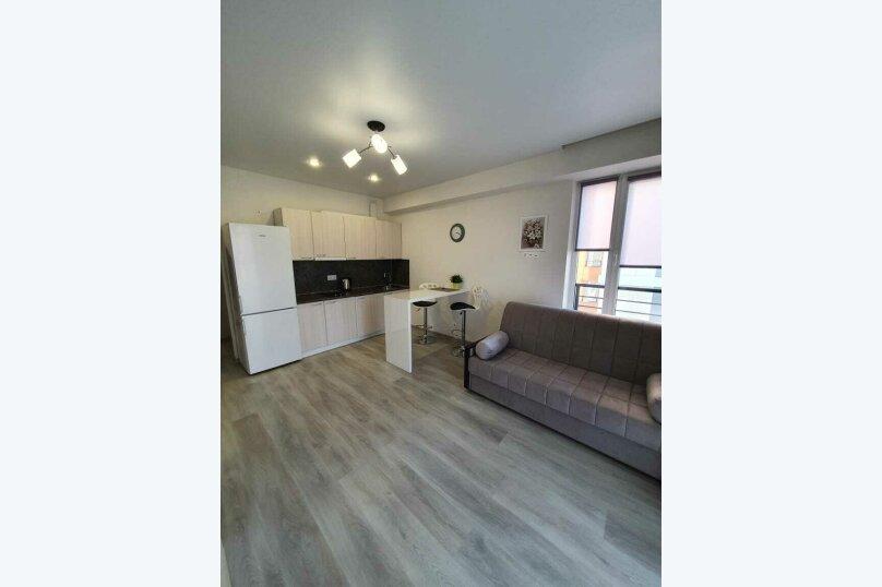 1-комн. квартира, 27 кв.м. на 3 человека, Старошоссейная улица, 5к2, Дагомыс - Фотография 1
