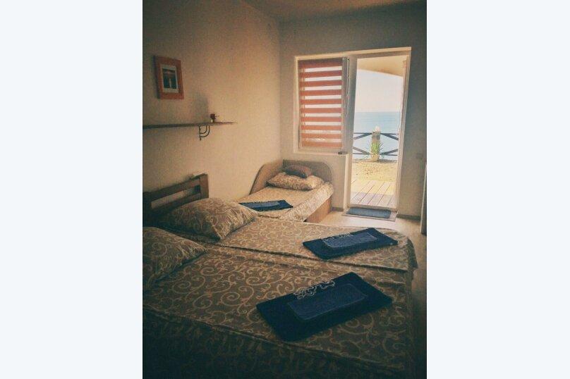 Трехместный номер со всеми удобствами с видом на море, Лазурный берег, 6Д, Морское - Фотография 3