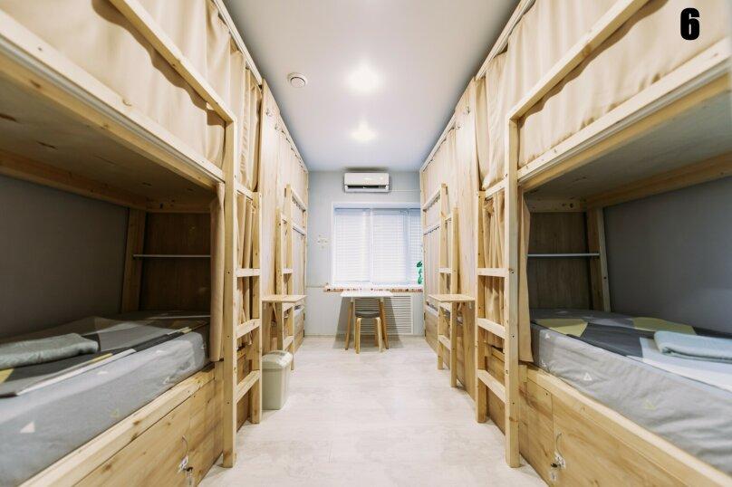 Кровать в общем 8-местном номере, Пограничная улица, 6А, Владивосток - Фотография 1