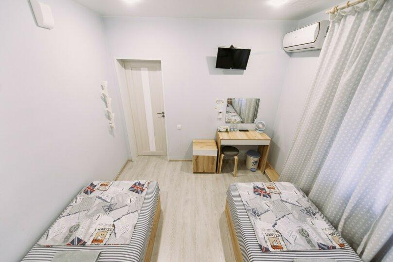 Двухместный номер с 2 отдельными кроватями и окном, Пограничная улица, 6А, Владивосток - Фотография 9