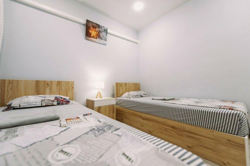 Двухместный номер с 2 отдельными кроватями и окном, Пограничная улица, 6А, Владивосток - Фотография 10