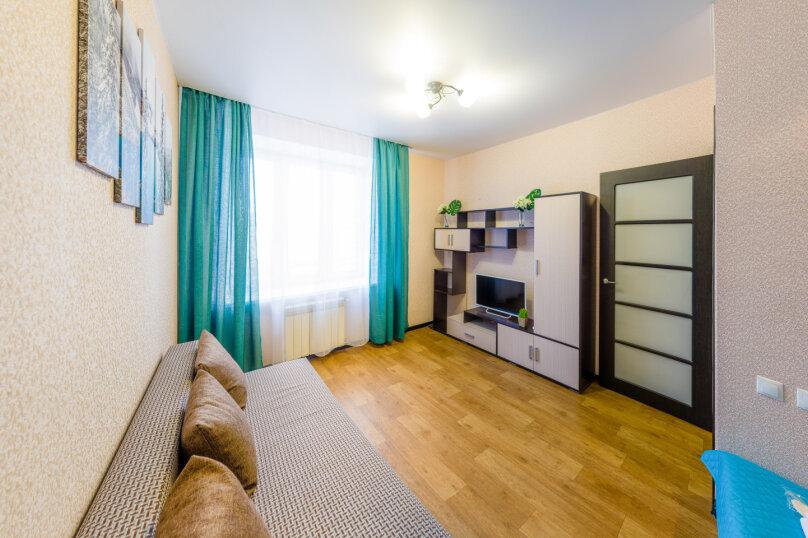 1-комн. квартира, 36 кв.м. на 4 человека, улица Николая Смирнова, 6, Чебоксары - Фотография 12