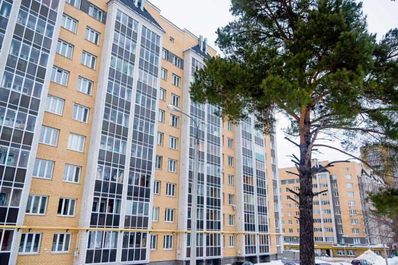 1-комн. квартира, 36 кв.м. на 4 человека, улица Николая Смирнова, 6, Чебоксары - Фотография 14
