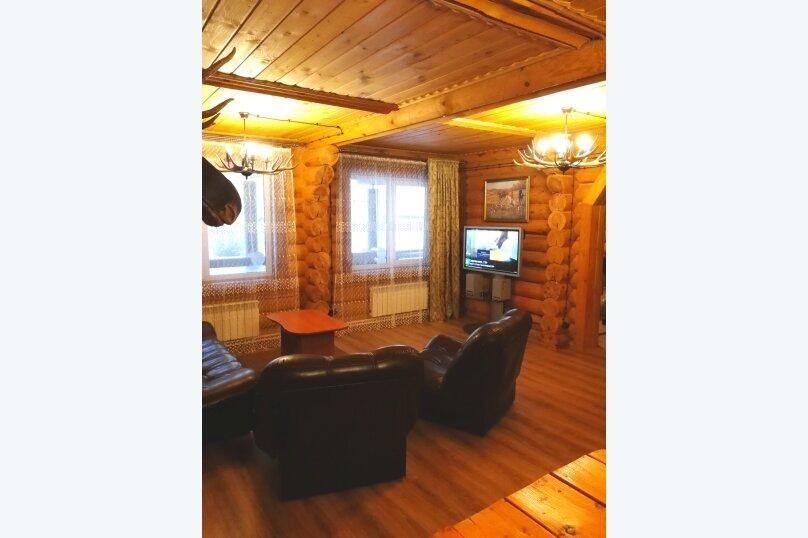 Дом рыбака и охотника. Рыбинка., 100 кв.м. на 8 человек, 3 спальни, д. Бараново, ул. Моложская, 2, Весьегонск - Фотография 1