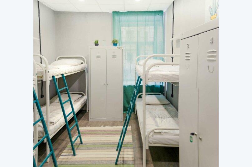Спальное место в 6-ти местном номере для мужчин и женщин, Старорусская улица, 5/3, Санкт-Петербург - Фотография 1