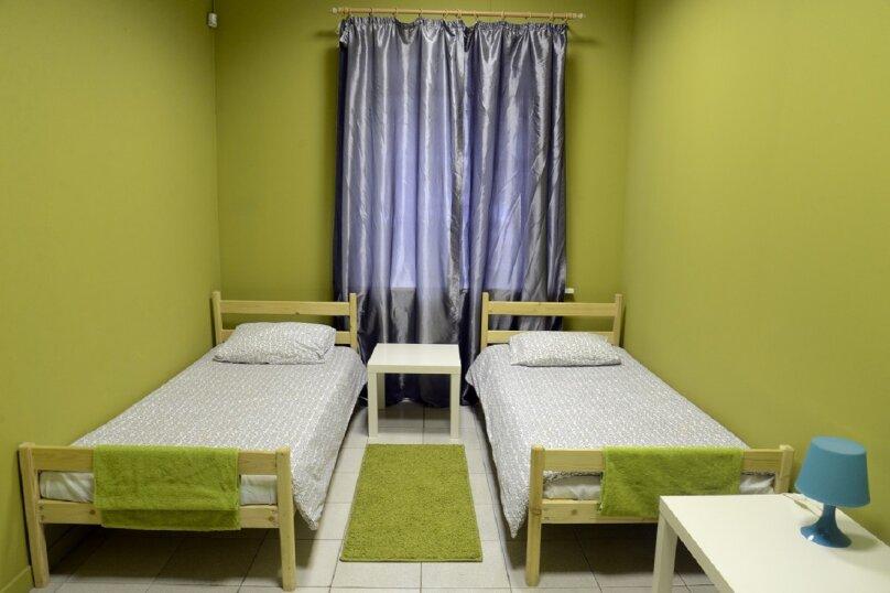 2-х местная комната с раздельными кроватями, улица Шверника, 16к1, Москва - Фотография 1