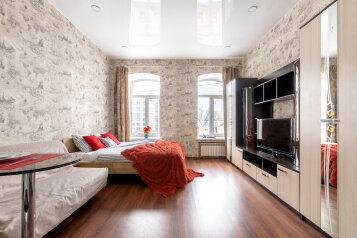 1-комн. квартира, 27 кв.м. на 4 человека, Гончарная улица, 24, Санкт-Петербург - Фотография 1