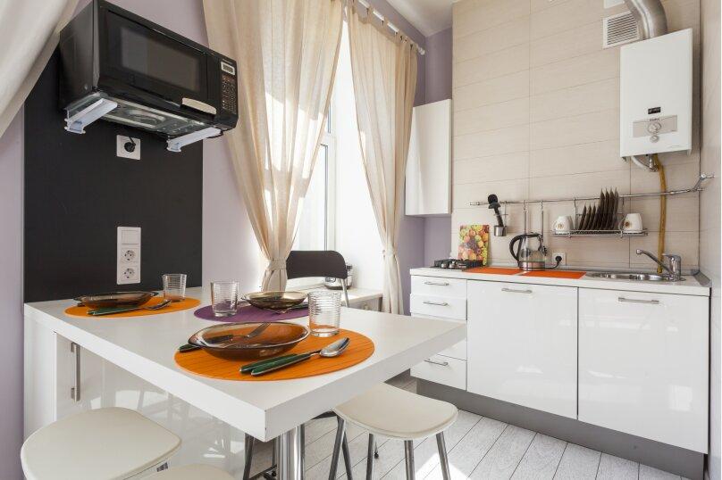2-комн. квартира, 47 кв.м. на 6 человек, улица Рубинштейна, 30, Санкт-Петербург - Фотография 4