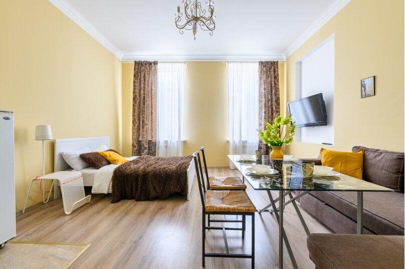 1-комн. квартира, 31 кв.м. на 5 человек, переулок Антоненко, 3, Санкт-Петербург - Фотография 3
