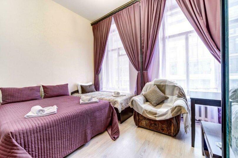 Двухместная гостевая комната с камином и собственным с/у, улица Марата, 8, Санкт-Петербург - Фотография 2