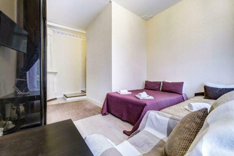 Двухместная гостевая комната с камином и собственным с/у, улица Марата, 8, Санкт-Петербург - Фотография 3