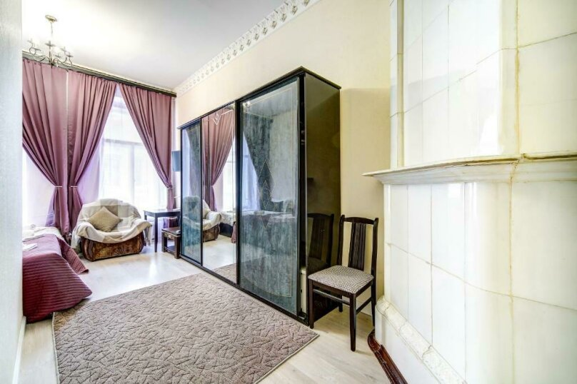 Двухместная гостевая комната с камином и собственным с/у, улица Марата, 8, Санкт-Петербург - Фотография 4
