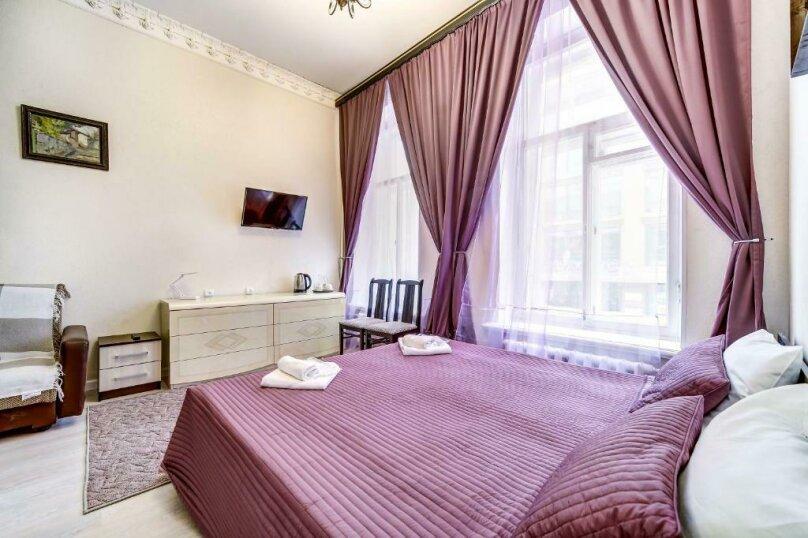 Двухместная гостевая комната с камином и собственным с/у, улица Марата, 8, Санкт-Петербург - Фотография 5