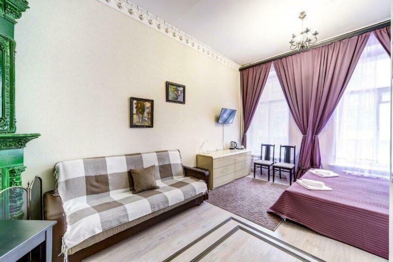Двухместная гостевая комната с камином и собственным с/у, улица Марата, 8, Санкт-Петербург - Фотография 9