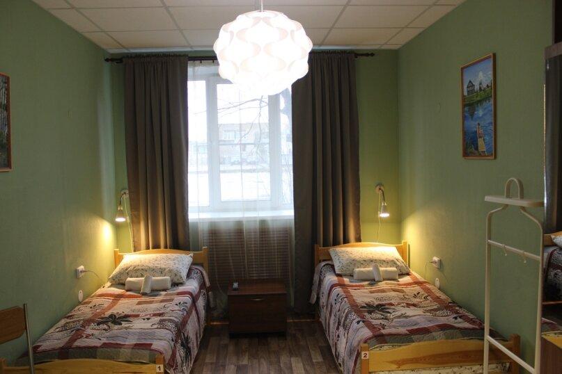 Двухместный номер с двумя отдельными кроватями, улица Ленина, 21, Олонец - Фотография 1