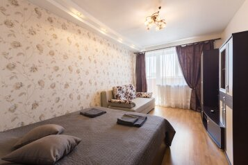1-комн. квартира, 45 кв.м. на 4 человека, проспект Юрия Гагарина, 14к6, Санкт-Петербург - Фотография 1