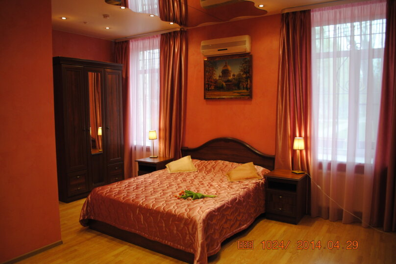 """Двухместный номер """"Комфорт"""" с 1 кроватью, Слободская улица, 3, Санкт-Петербург - Фотография 2"""