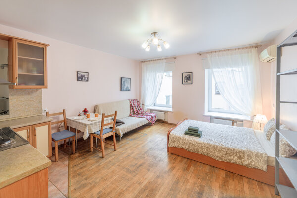 1-комн. квартира, 37 кв.м. на 4 человека, Невский проспект, 127А, Санкт-Петербург - Фотография 1