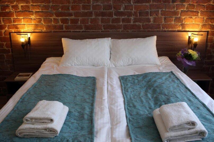 Большой 2-х местный номер с одной кроватью , 9-я линия Васильевского острова, 30, Санкт-Петербург - Фотография 1
