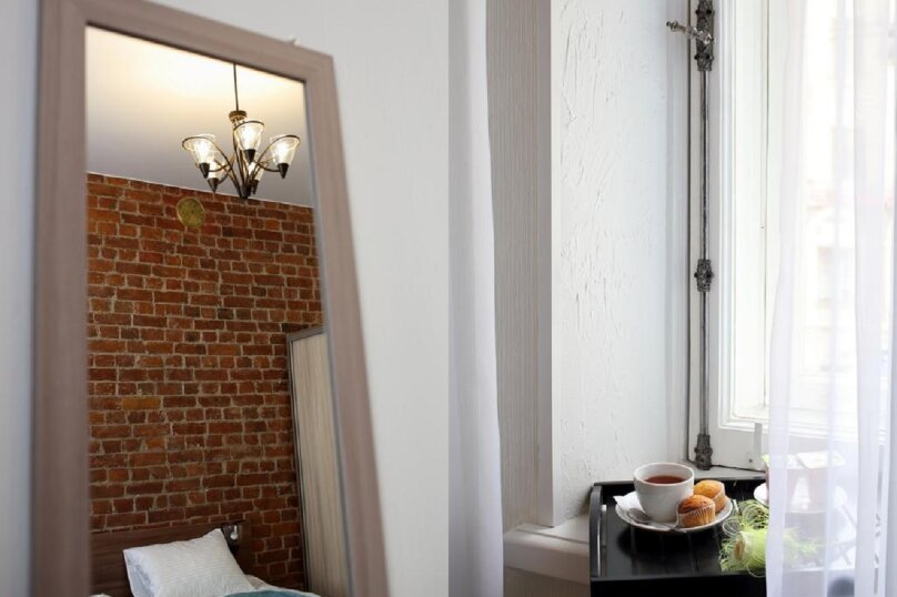 Большой 2-х местный номер с одной кроватью , 9-я линия Васильевского острова, 30, Санкт-Петербург - Фотография 4